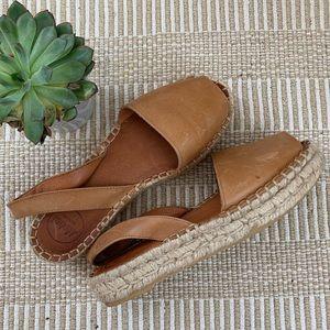 Shoes - Platform espadrille sandal